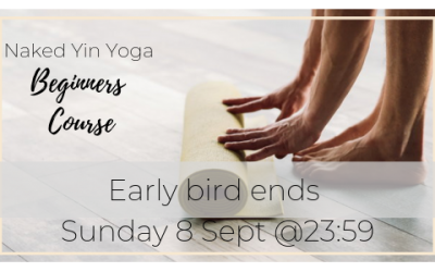 Join my 6-week Beginners Yin Naked Yoga Course (Chakras)
