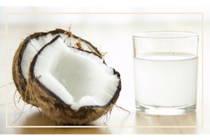 Coconut Water Yogi Healthy