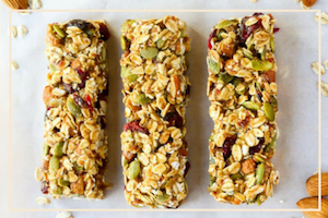 Healthy Yoga Granola Bar