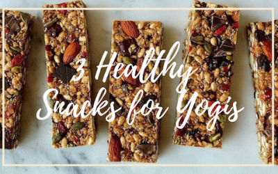 3 Healthy Snacks for Yogis