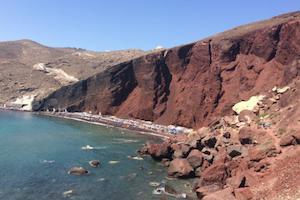 Nudist beach Greece sun summer