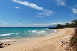 nudist beach Hawaii sun summer