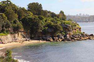 Nudist Beach Sydney Australia Summer Sun
