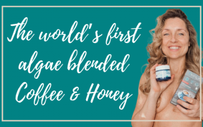 The world's first algae blended Coffee & Honey