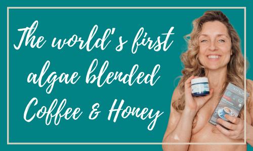 The world's first algae blended Coffee & Honey